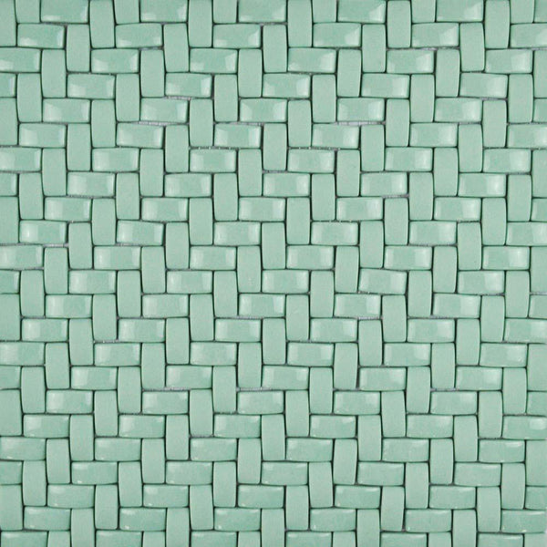 Twine Recycled Glass Herringbone Mosaic 12x12