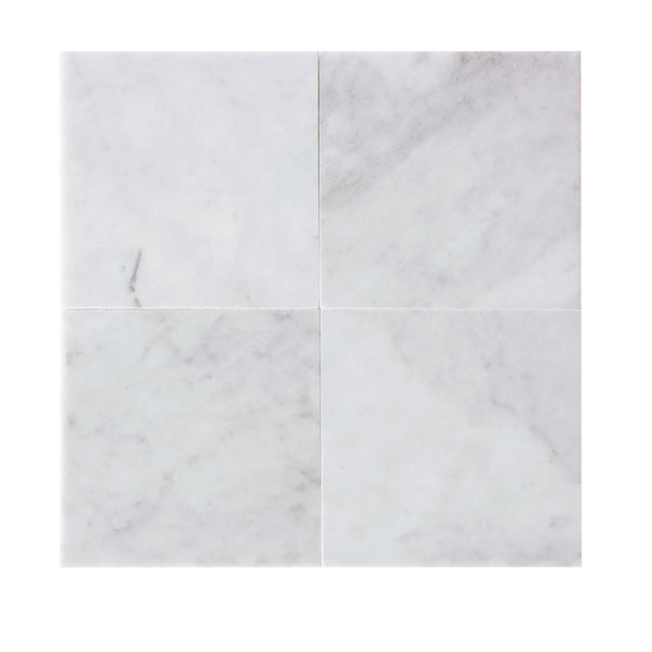 Carrara White Marble Square Tile