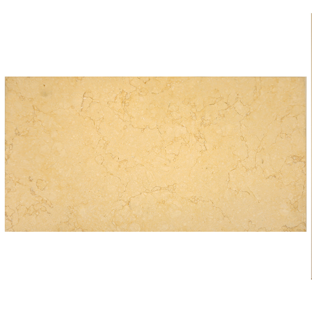 Sunny Gold Limestone Rectangle Tile 12x24 Honed