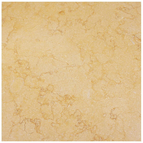 Sunny Gold Limestone Square Tile Honed