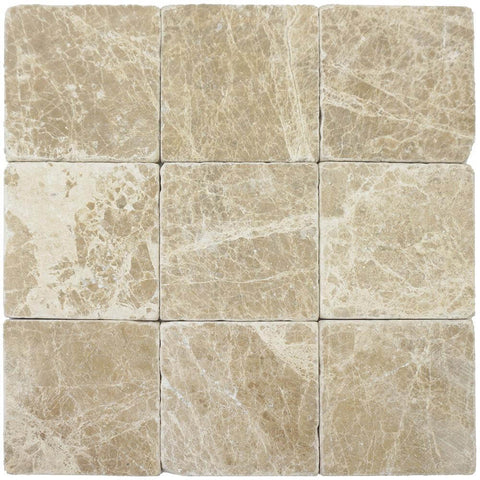 Emperador Light Marble Square Tile