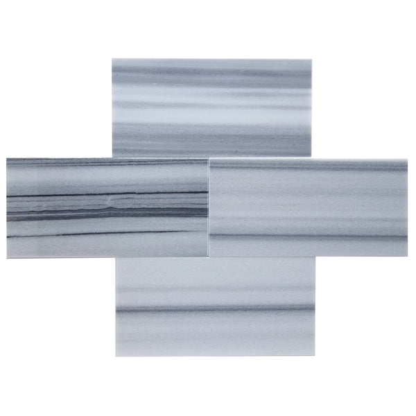 Mink Marble Rectangle Tile