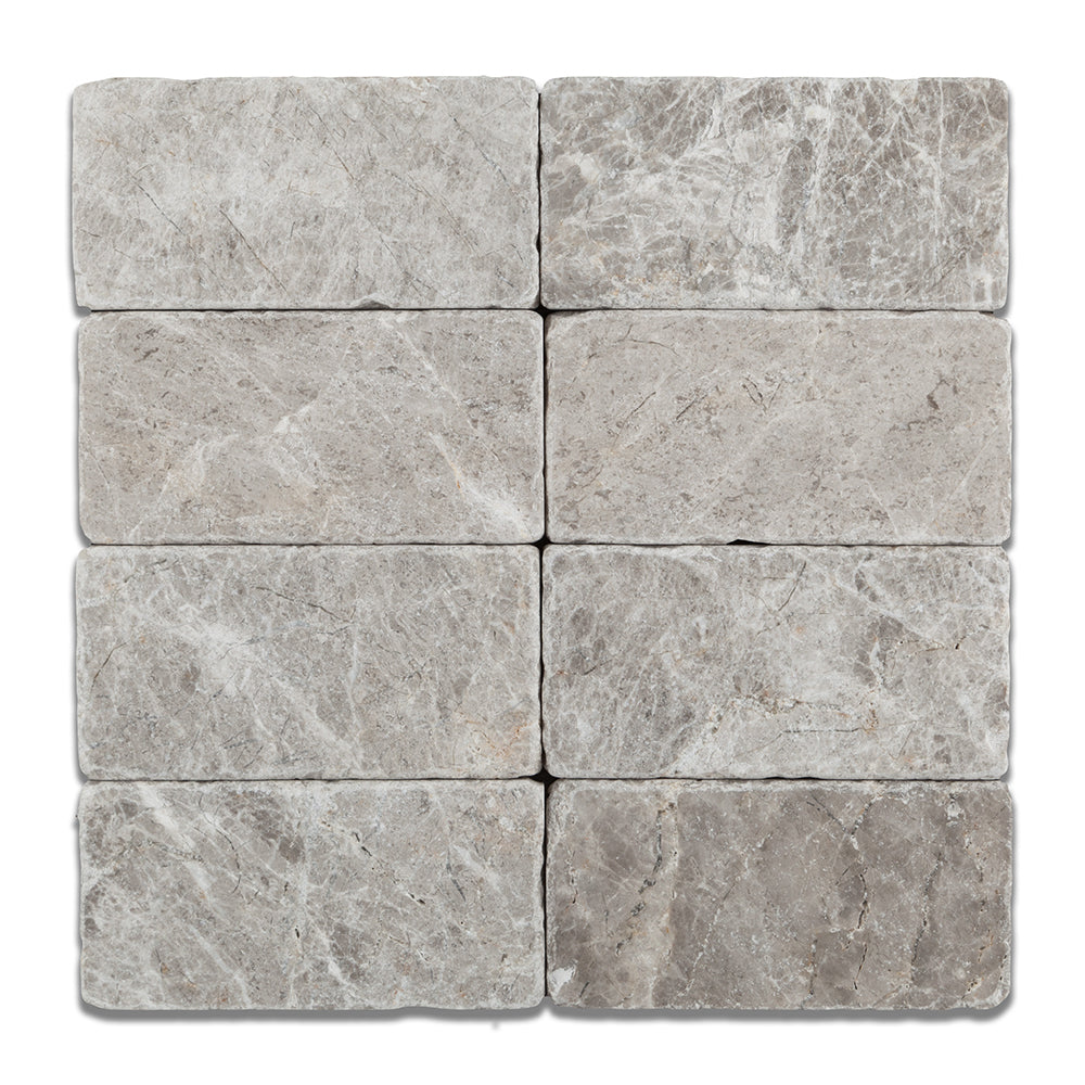 Rectangle tile arctic grey marble rectangle tile dailygadgetfo Images
