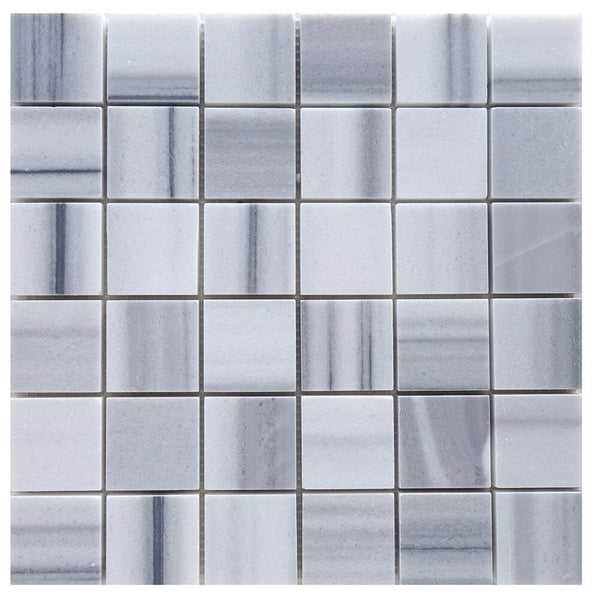 Mink Marble Square Mosaic 2x2 Polished