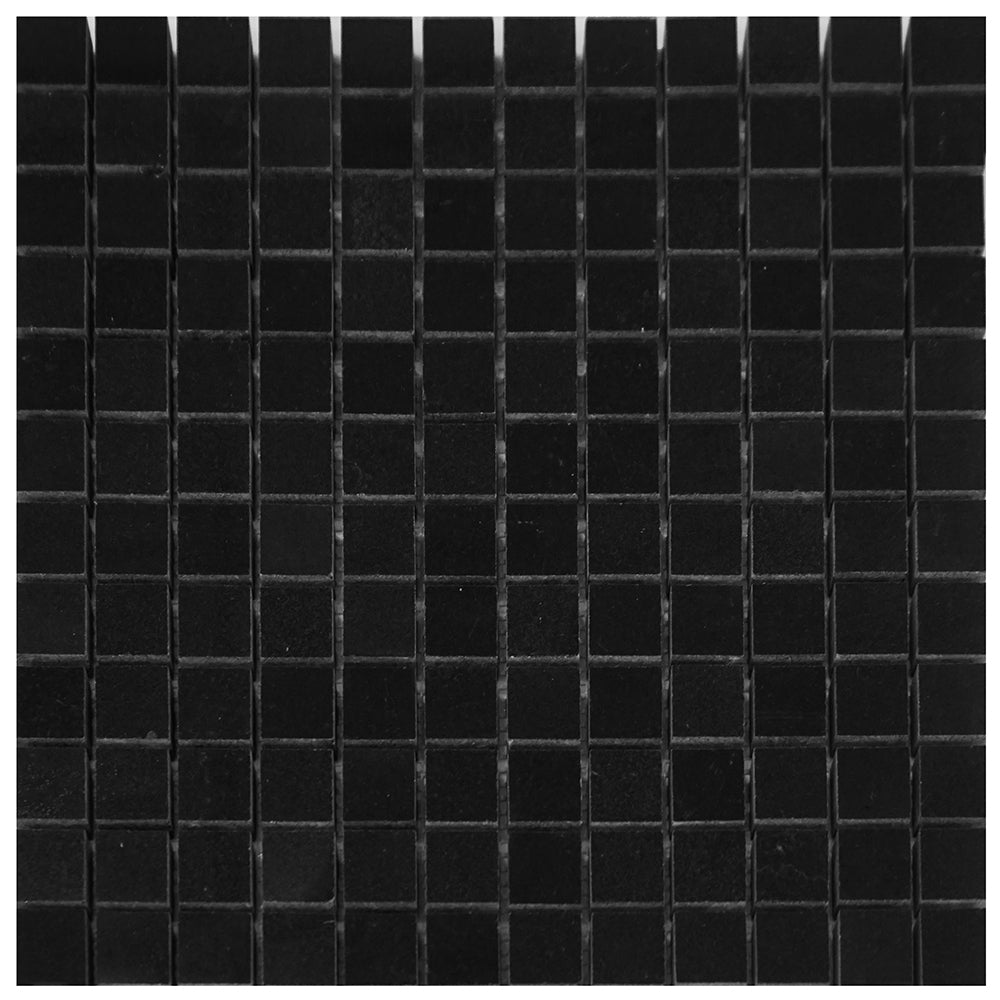 Absolute Black Granite Square Mosaic