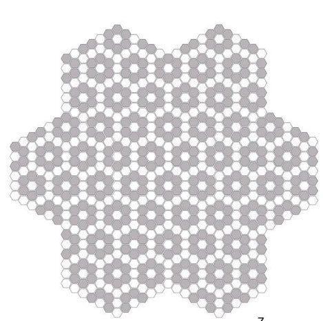 Metropolitan New York Porcelain Hexagon Mosaic Floret Matte