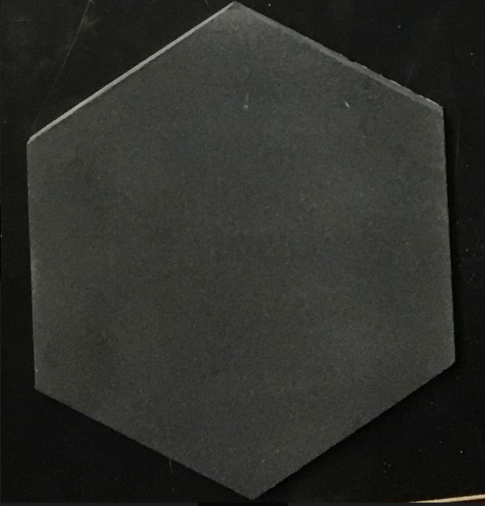 "Basalt 6"" Hexagon Tile"
