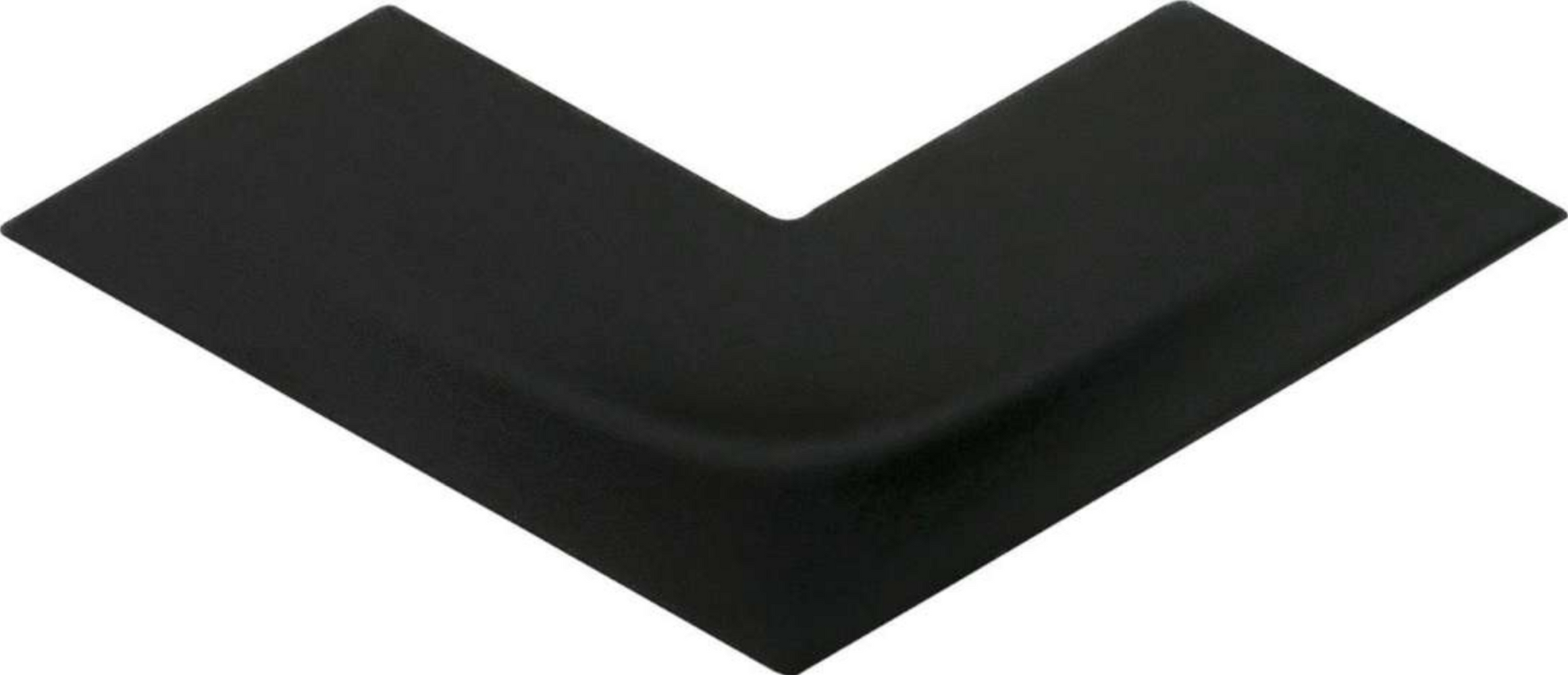 Versatile Arc Black Ceramic Glossy 3D Wall Tile