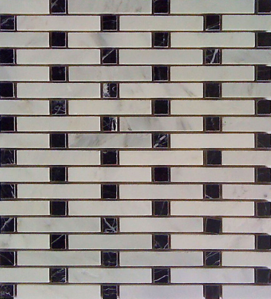 Stacks and Square Marble Mosaic