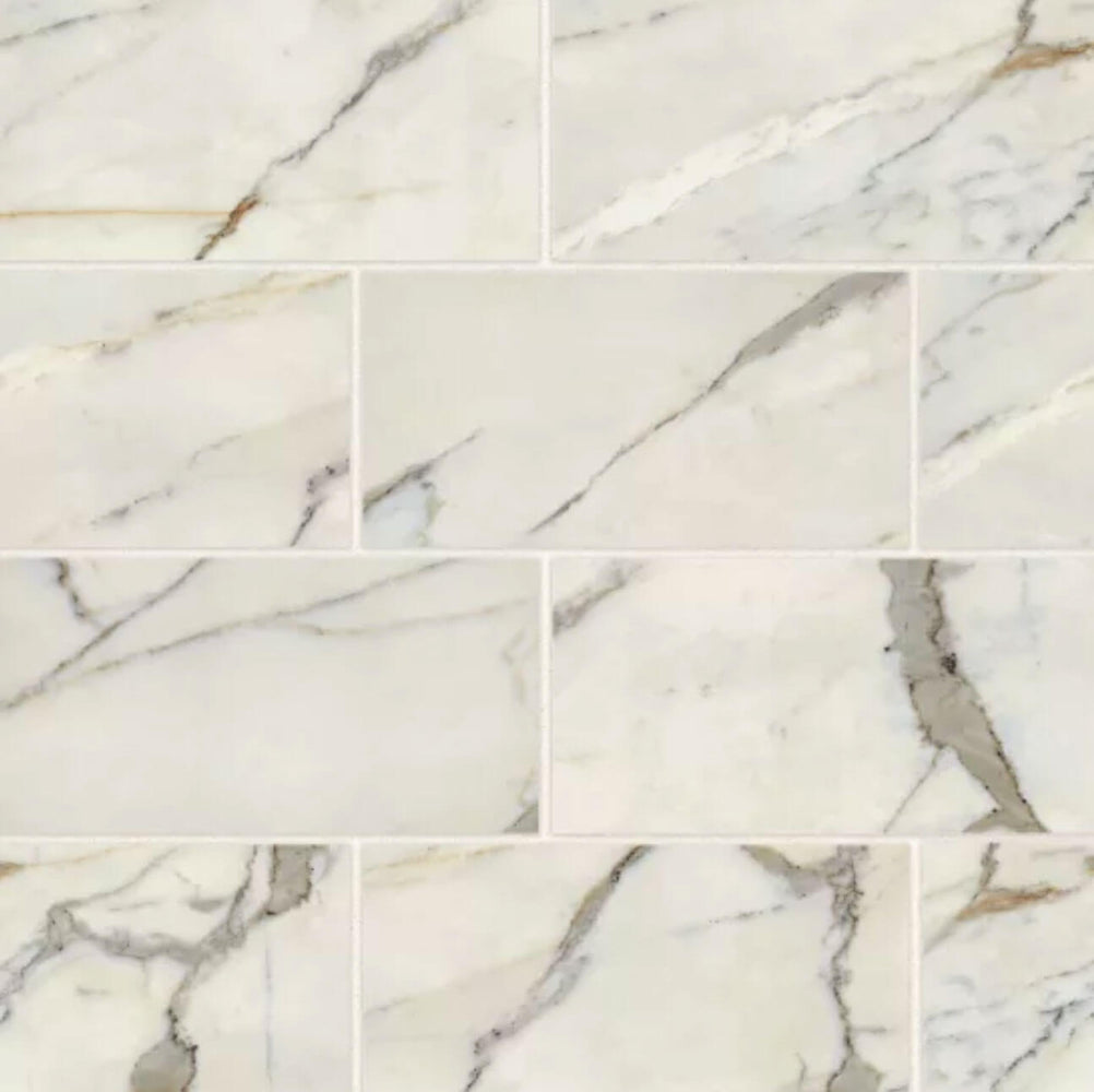 12x24 Classic 2.0 Polished Porcelain Stone Look Tile