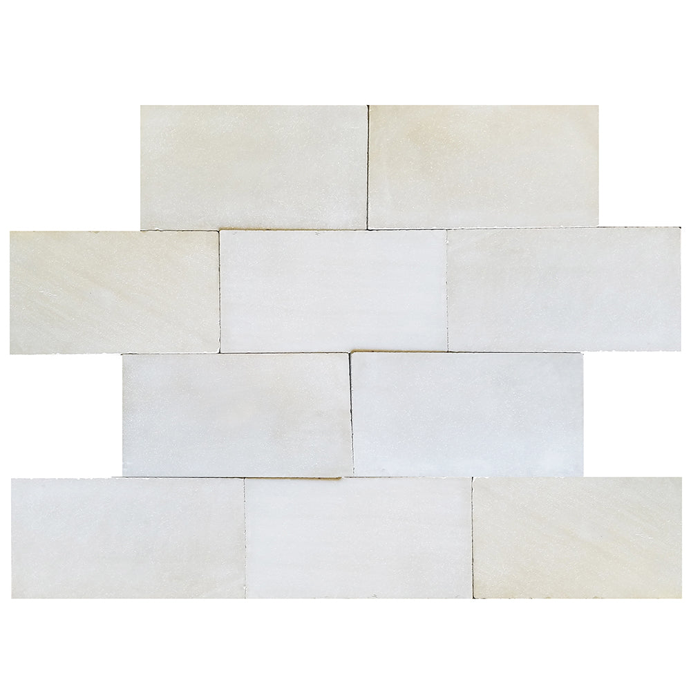"Europa Limestone Rectangle Cadiz Tile 22""x33"" Weathered"