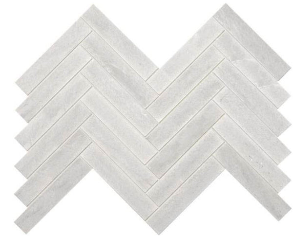 Candid Heather Chevron Marble Mosaic