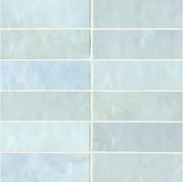Ceramic Cloe 2 5 Quot X 8 Quot Wall Tile In Baby Blue