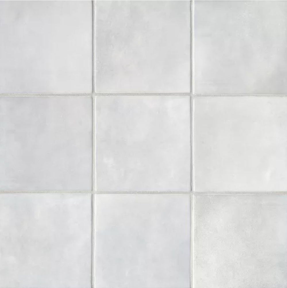 "Ceramic Cloe 5"" x 5"" Wall Tile in Grey"