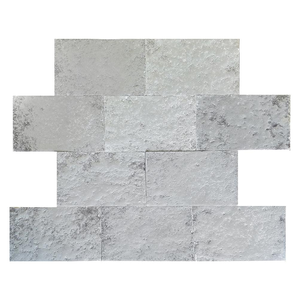 "Europa Limestone Rectangle Dublin Tile 16""x24"" Aged"