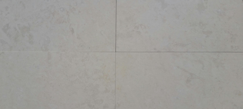 Euro Cream Limestone Honed 18X36 Tile