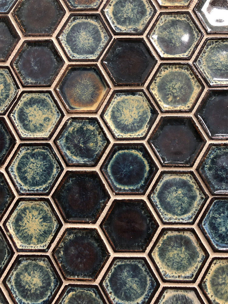 Chelsea Hexagon Porcelain Mosaic