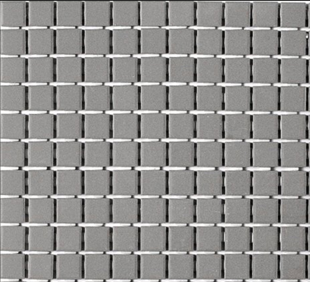 Grey Basalt Square Mosaic