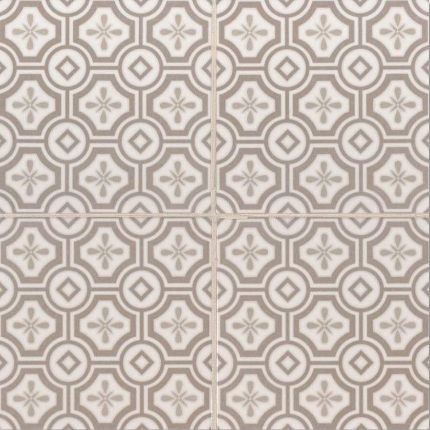 Kenzi Ceramic Encaustic Look Tile