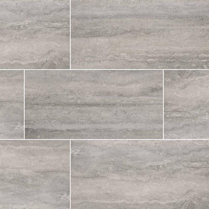 Mountain Porcelain Travertine Look Tile