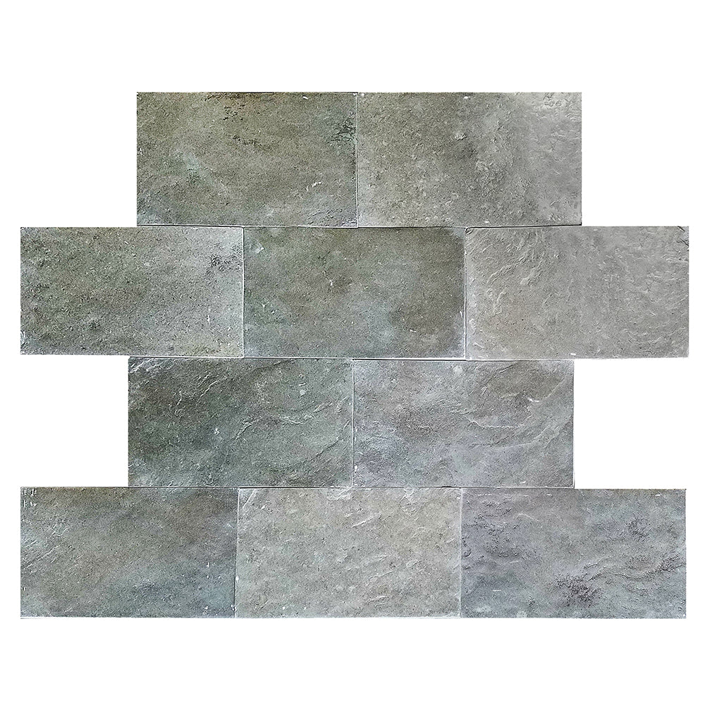 "Europa Limestone Rectangle Prague Tile 16""x24"" Aged"