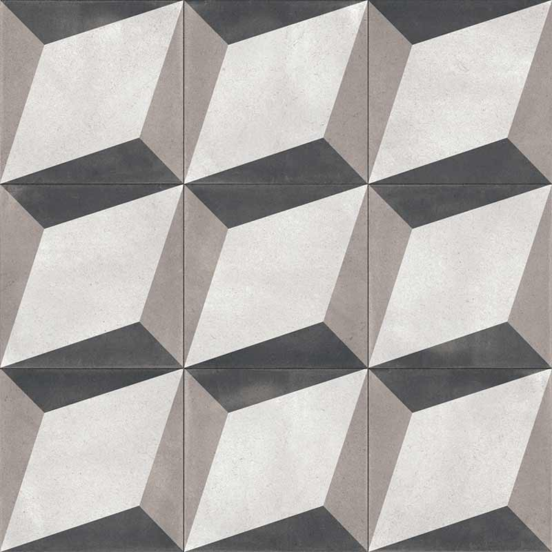 Spanish Porcelain Patterned Look Tile 24x24