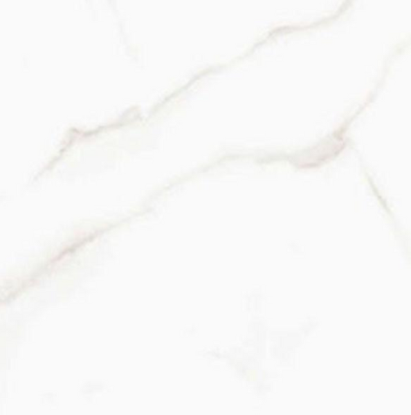 Sculpture White Porcelain Glossy Marble Look Tile 13X36