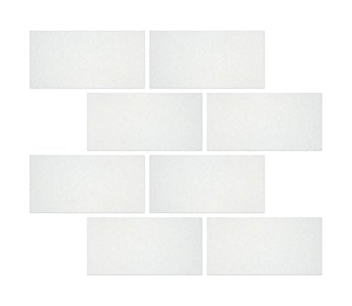 Thassos White Marble Rectangle Tile