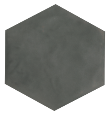 Maiolica Taupe Hexagon Ceramic Tile