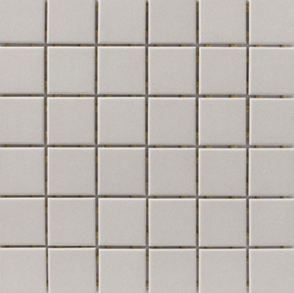 Tender Grey Porcelain Mosaic