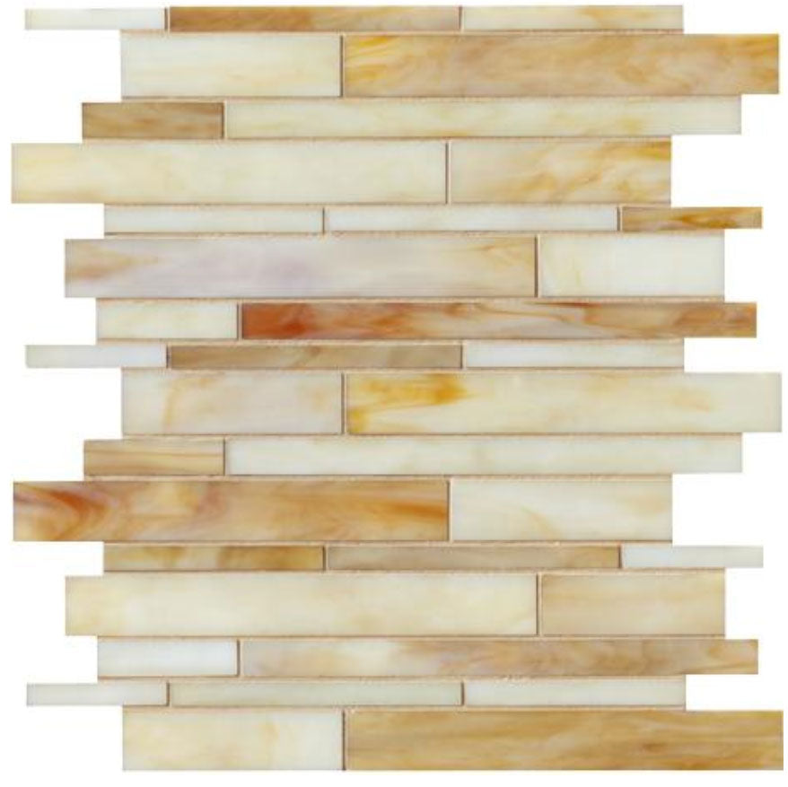 Catwalk Toffee Tennis Glass Mosaic