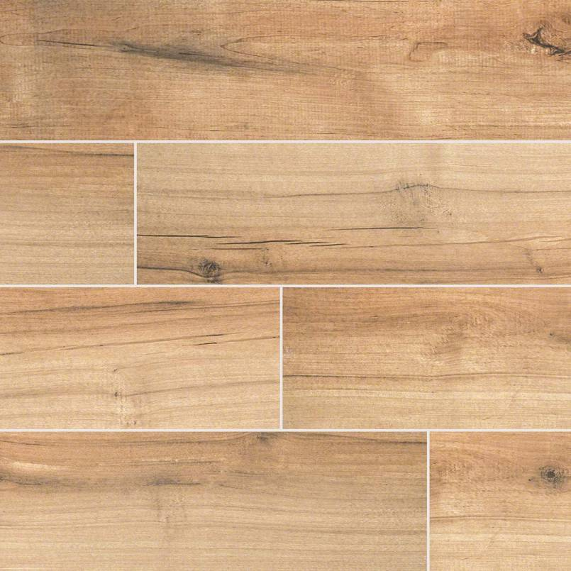 Camp Porcelain Wood Look Tile
