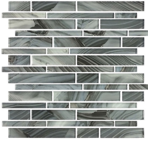Refluence Waterfall Glass Mosaic