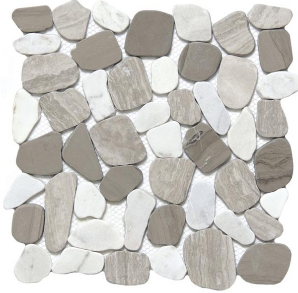Cultura Winter Stone Pebbles Mosaic