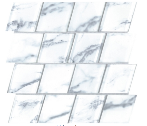 Alps Diamond Glass Mosaic 11.75