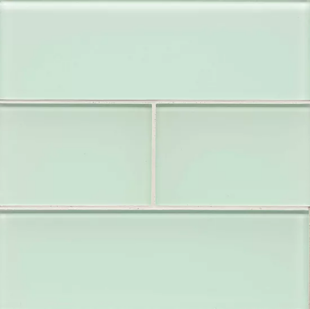 Hamptons Bottle Glass Subway Tile 4x12