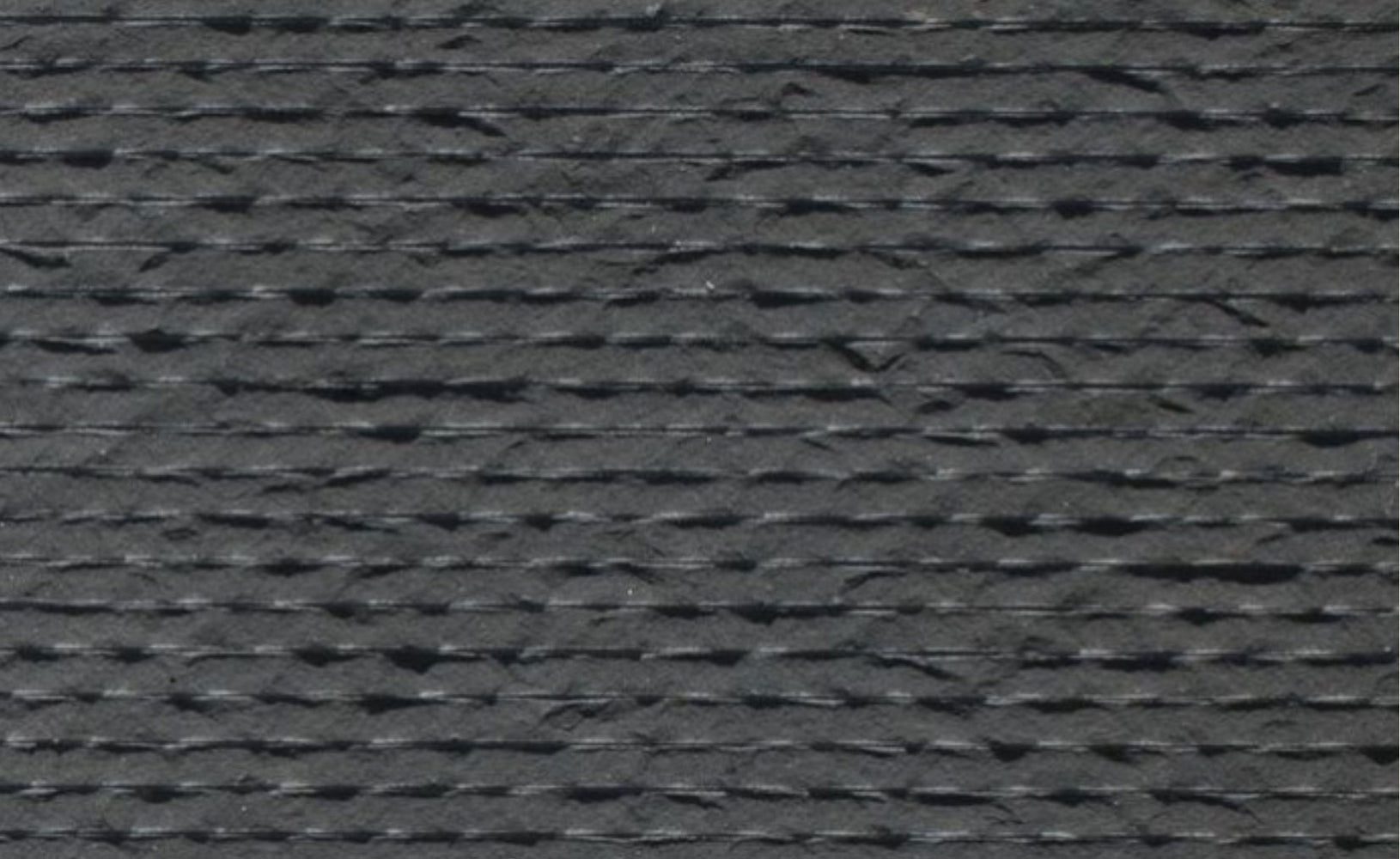 Flamed Wave Black Basalt Tile 12x24