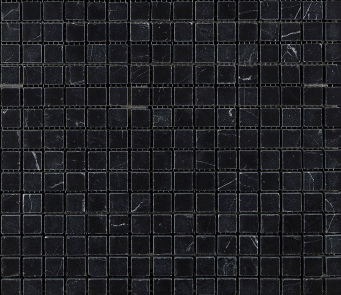 Nero Marquina Mini Square Mosaic