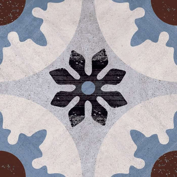 Posa Porcelain Encaustic Look Tile