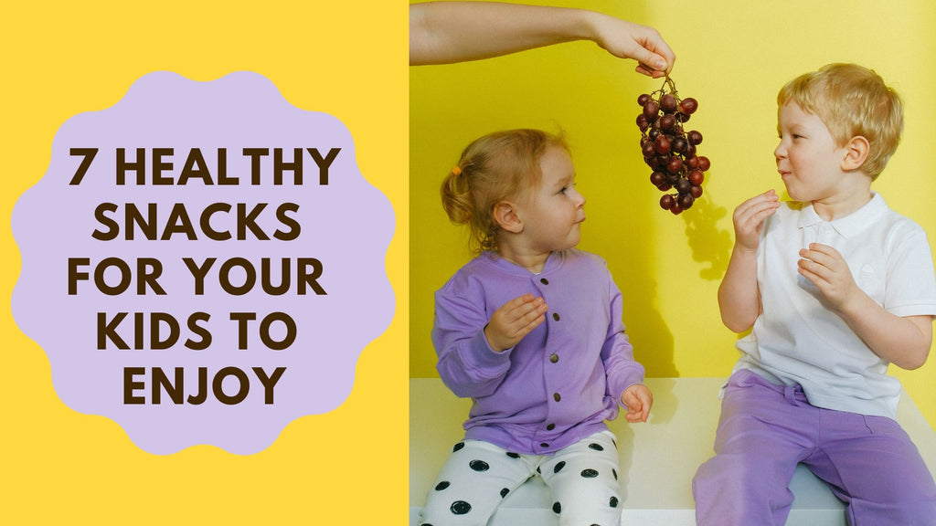7 Healthy Snacks For Your Kids To Enjoy