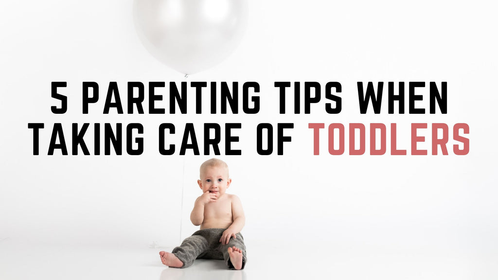 5 Parenting Tips When Taking Care Of Toddlers