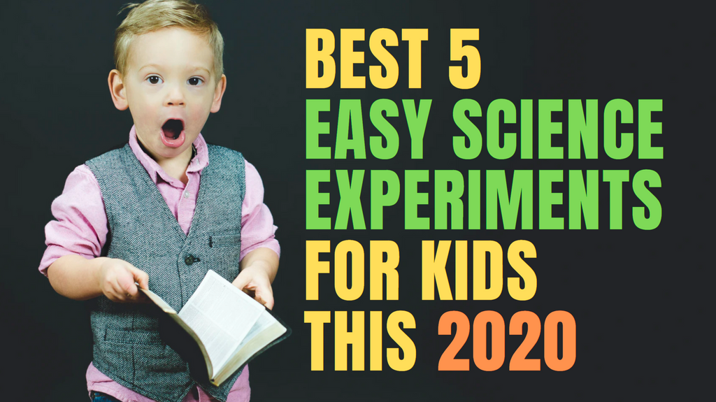 Best 5 Easy Science Experiments For Kids