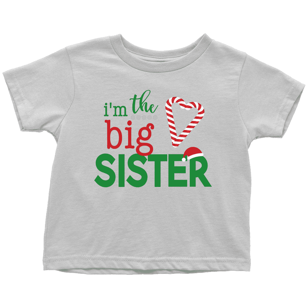 Big Sister Christmas Shirt - Bump and Beyond Designs