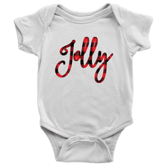 Jolly Onesie, First Christmas Shirt for Baby Boys and Girls - Bump and Beyond Designs