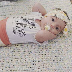 Cousins Make the Best Friends Newborn Bodysuit - Bump and Beyond Designs