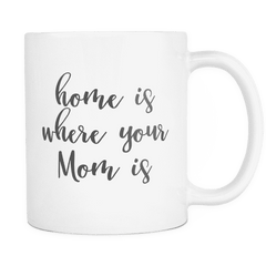 Coffee Mug for Moms, Home is Where Your Mom is - Bump and Beyond Designs