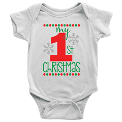 My First Christmas Onesie for Boys and Girls