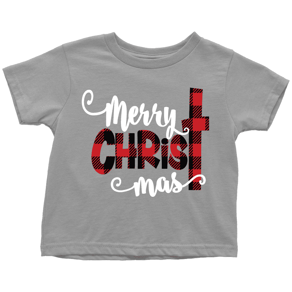 Merry Christmas Shirt, Youth Christmas T-Shirt