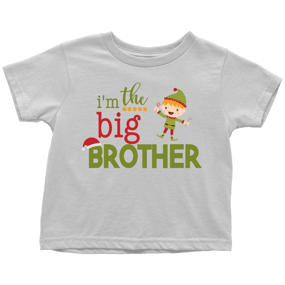 Christmas Big Brother Shirt, Elf Shirt - Bump and Beyond Designs