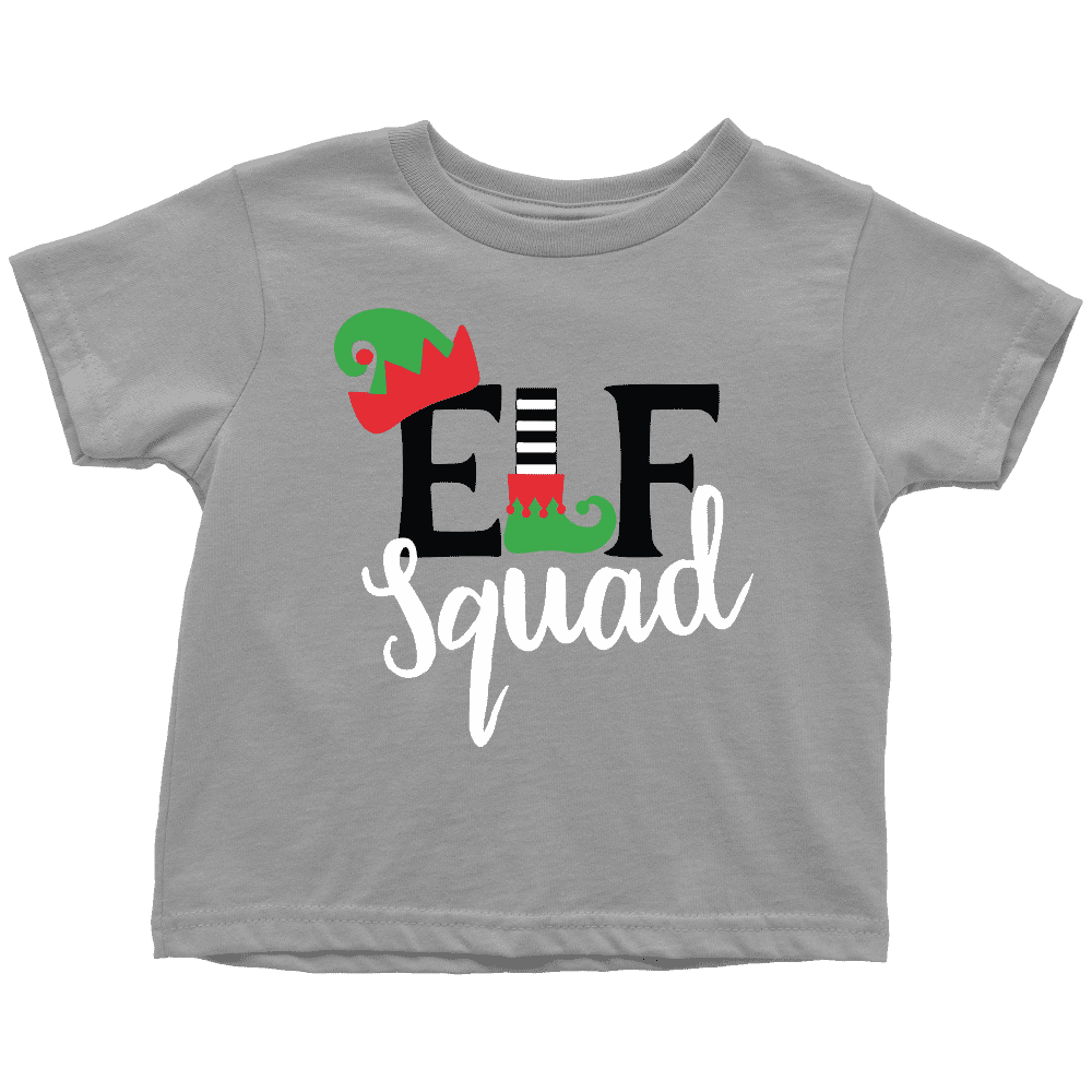 Elf Squad Toddler Christmas Shirt - Bump and Beyond Designs